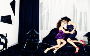 Carice van Houten and Halina Reijn - Linda Photoshoot - 2013