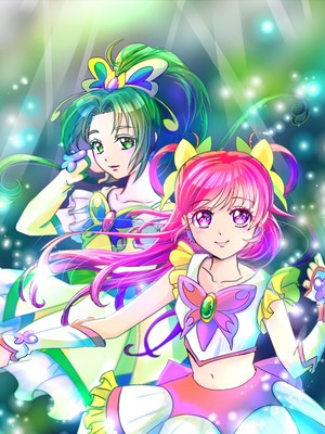 Cure Dream and Cure Mint