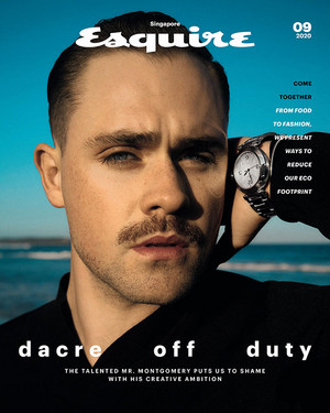Dacre Montgomery - Esquire Singapore Cover - 2020