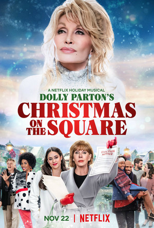 Dolly Parton's giáng sinh on the Square || November 22, 2020