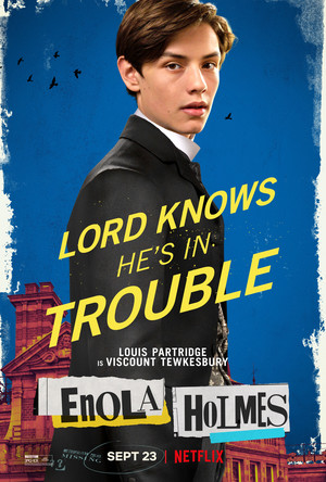 Enola Holmes (2020) Poster - Louis partrids as Viscount Tewkesbury