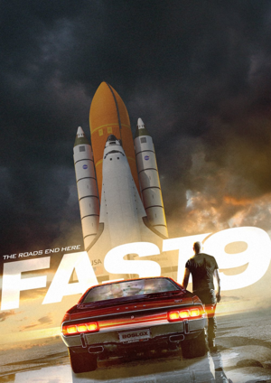 Fast 9 - BossLogic Poster - The Road Ends Here