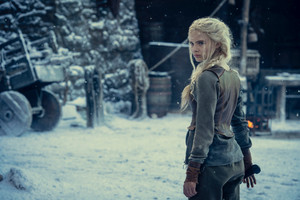 Freya Allan as Ciri || First Look || Season 2