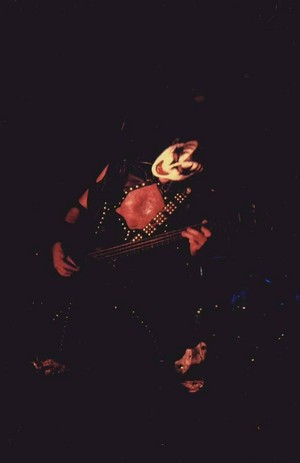 Gene ~Houston, Texas...October 4, 1974 (KISS Tour)