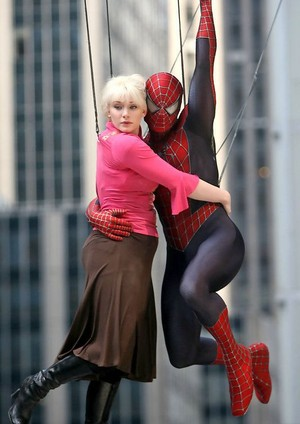 Gwen and Spider-Man
