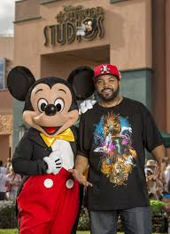 Ice Cube And Mickey Mouse