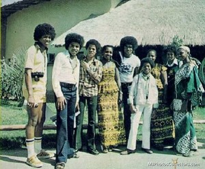 Jackson 5 On Tour In Africa