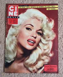 Jayne Mansfield On The Cover Of Cine Demand