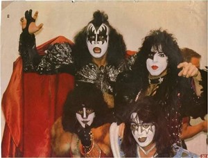 Kiss ~Drammen, Norway...October 13, 1980 (Unmasked World Tour)
