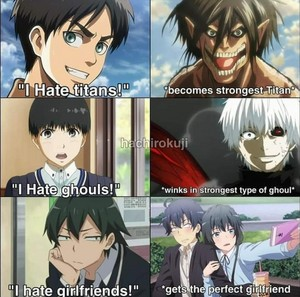 LMAO! Anime logic XD