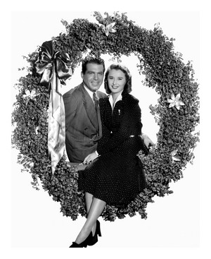 Merry 크리스마스 from 프레드 MacMurray and Barbara Stanwyck