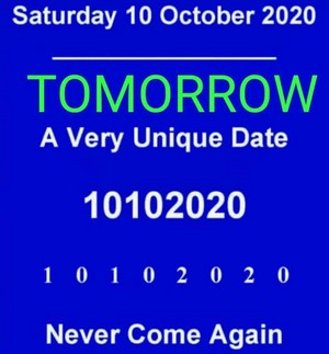 Mfs swear 10th October, 2020 is a unique दिन