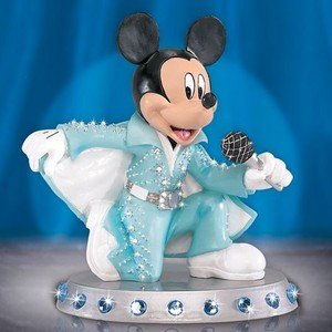 Mickey tetikus As Elvis Presley Figurine