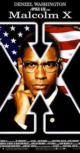 Movie Poster 1992 Film, Malcolm X