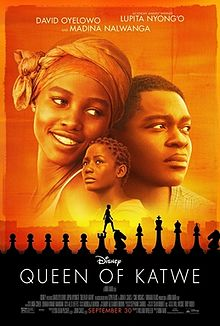 Movie Poster 2016 Film, Queen Of Katwe