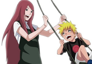 Naruto and Kushina Uzumaki