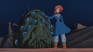 Nausicaä of the Valley of the Wind fond d'écran