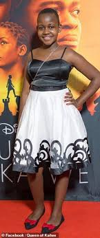 Nikita Pearl Waligwa 2016 Disney Film Premiere Queen Of Katwe