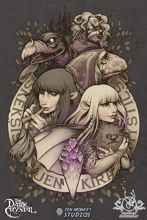 Official Dark Crystal diseño