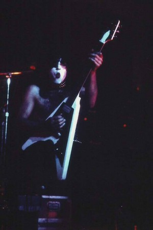 Paul ~Houston, Texas...October 4, 1974 (KISS Tour)
