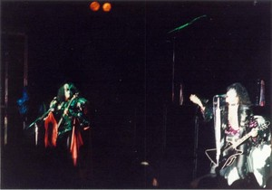 Paul and Gene ~Drammen, Norway...October 13, 1980 (Unmasked World Tour)