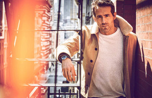 Ryan Reynolds photographed by Guy Aroch for Mr Porter