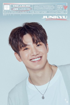 TREASURE - 'I LOVE YOU' TITLE MEMBER POSTER <JUNKYU>