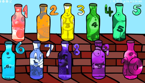Ten Green Bottles | Nursery Rhymes | Recycle Songs