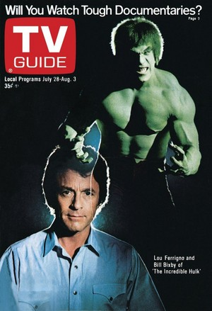 The Incredible Hulk (1978 - 1982) Lou Ferrigno and Bill Bixby