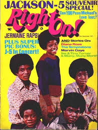 The Jackson 5 On The Cover Of Right On