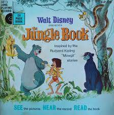 The Jungle Book Storybook And Record Set