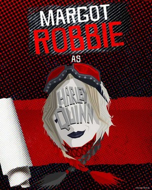 The Suicide Squad: Roll Call Poster - Harley Quinn