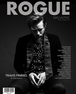 Travis Fimmel - Rogue Magazine Cover - 2018