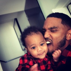Trey Songz and Noah