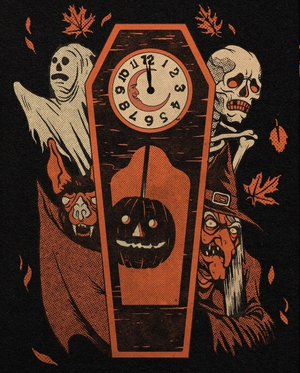 Vintage Style Halloween Illustrations سے طرف کی Austin R. Pardun