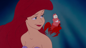 Walt Disney Screencaps - Princess Ariel & Sebastian