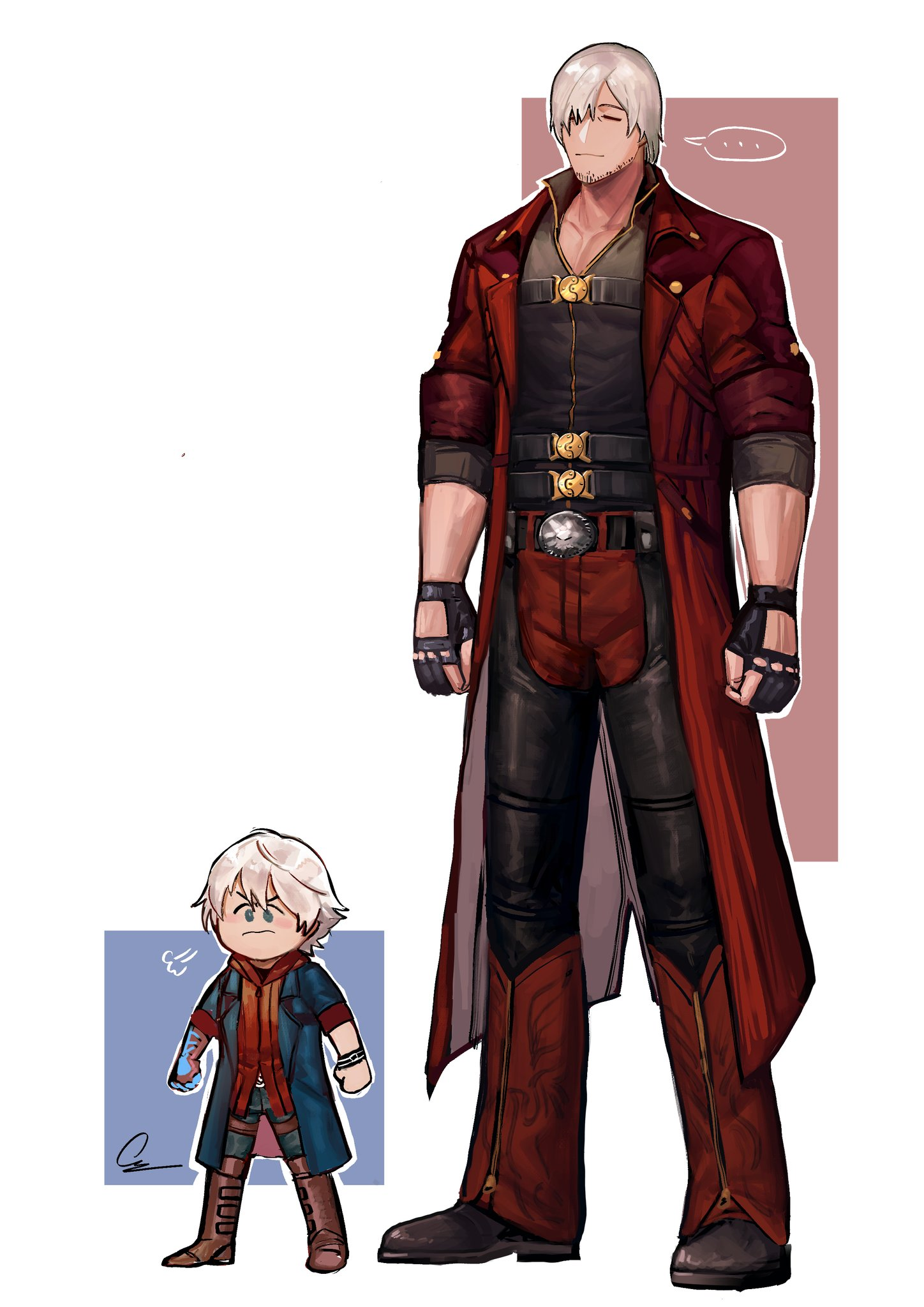 dante and small nero