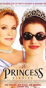 Movie Poster 2001 Disney Film, The Princess Diaries