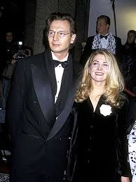 Natasha Richardson And Liam Nesson 1996 ディズニー Film Premiere Of 101 Dalmatians