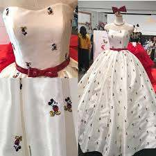 Minnie Mouse Inspired Wedding Dress