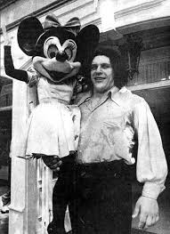 Andre The Giant Visiting Disneyland