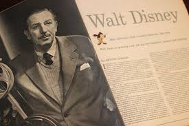 Article Pertaining To Walt Disney