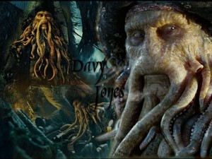 *Davy Jones :Pirates Of The Caribbean*