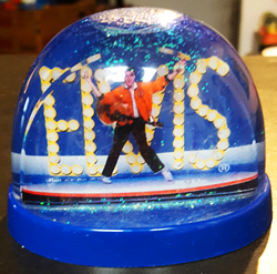 Elvis Presley Snow Dome