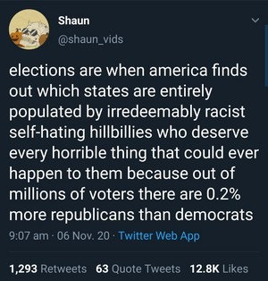 """Red states"""