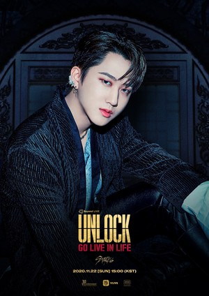 Stray Kids Changbin ONLINE konzert Beyond LIVE - Stray Kids 'Unlock : GO LIVE IN LIFE' POSTER