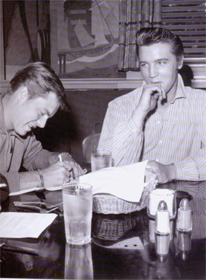 Robert Wagner And Elvis Presley