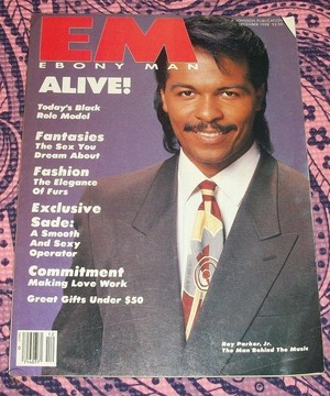 Ray Parker, Jr. On The Cover Of Ebony Man