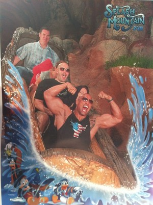 *The Rock At Disneyland*