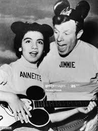 Annette Funnicello And Jimmie Dodd